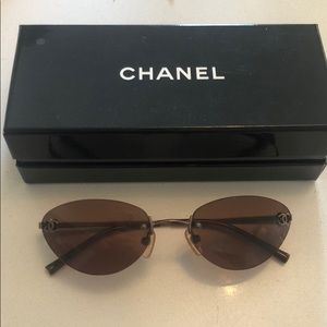 90s VTG Chanel Sunglasses